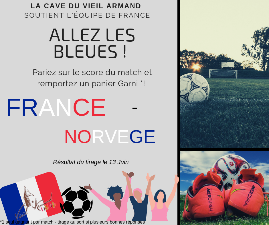 Match France - Norvège