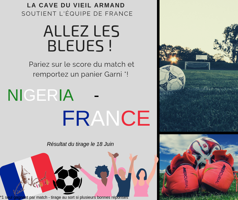 Match Nigéria - France
